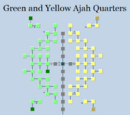 Green and Yellow Ajah Quarters
