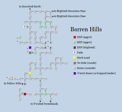 Zone 142 - Barren Hills