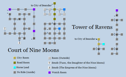 Zone 206 - Court of Nine Moons and Tower of Ravens