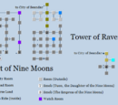 Court of Nine Moons and Tower of Ravens