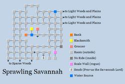 Zone 185 - Sprawling Savannah