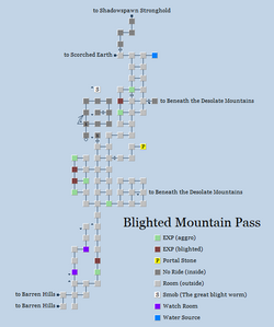 Zone 113 - Blighted Mountain Pass