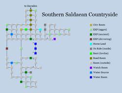 Zone 292 - Southern Saldaean Countryside