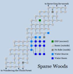 Zone 186 - Sparse Woods