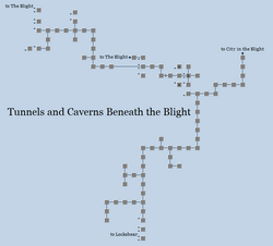 Zone 169 - Tunnels and Caverns Beneath the Blight
