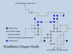 Zone 258 - Windbiter's Finger North