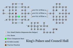 Zone 189 - King's Palace and Council Hall