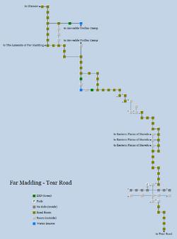 Zone 105 - Far Madding - Tear Road