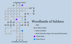 Zone 133 - Woodlands of Saldaea