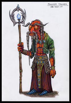 Warrior trainer concept