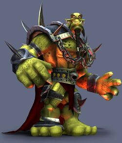 Thorn troll king