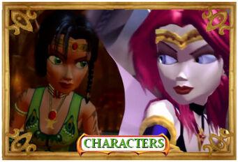CharactersB