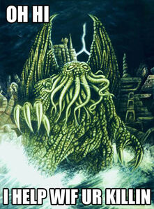 Wyers-cthulhu and rlyeh