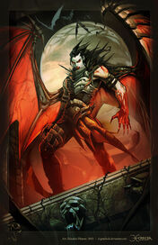 Demonic infused Tanis