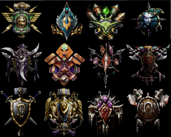 All crests