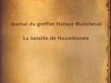 La bataille de Hautebrande (livre)