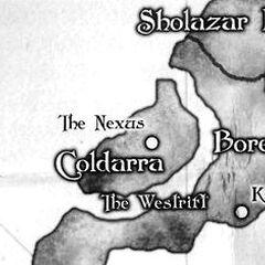 Местоположение Нексуса на карте