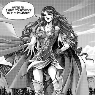 Tyrygosa's elven guise.