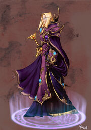 Young Prince Kael thas by pulyx