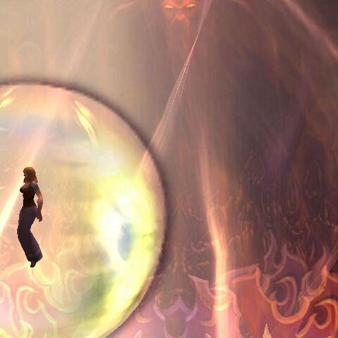 Анвина поднимается над Солнечным Колодцем в <a href=