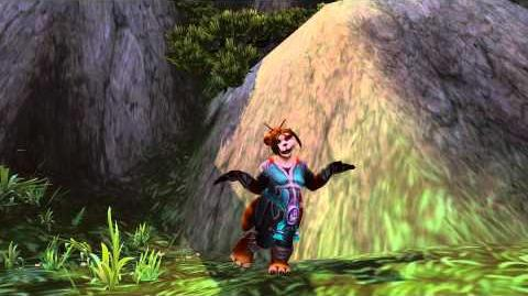Pandaren Male and Female Dances (with music full 1080p)