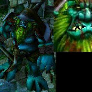 Morski gigant w Warcraft III