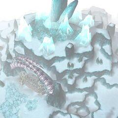 Zewnętrzne mury Zamarzniętego Tronu przed połączeniem Arthasa z Ner'zhulem