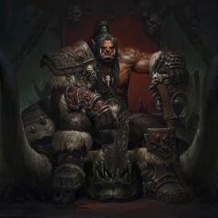 Grom Hellscream Wódz klanu Wojennej Pieśni