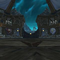 Ворота откуда появляются боссы подземелья