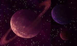 Großes Dunkles Jenseits Planeten