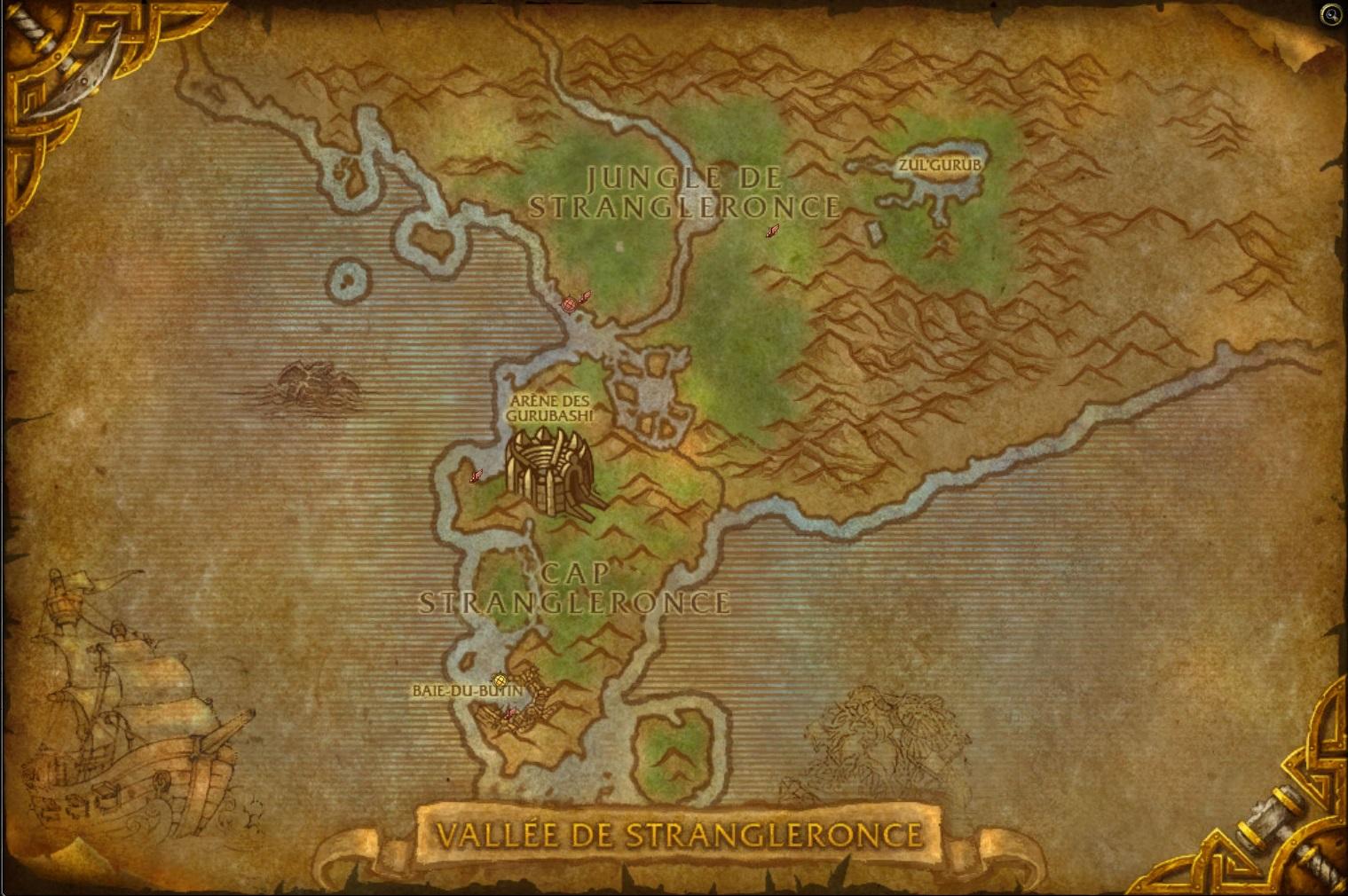 Vallée de Strangleronce map cata