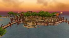 Île des Sombrelances (Durotar)