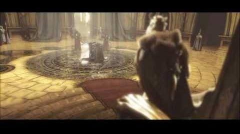 Конечный ролик кампании альянса в Warcraft III