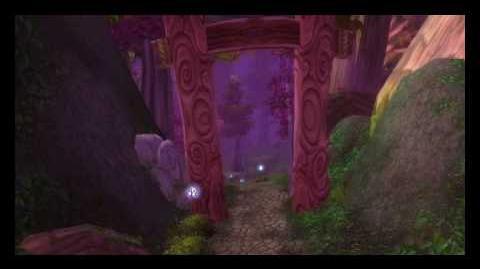 Intro de los Elfos de Noche (Antiguo)-World of Warcraft
