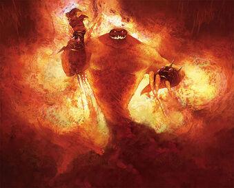Огненные Недра консоль Барон Геддон