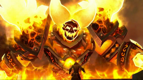 Thrall and Ragnaros