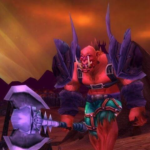 Tagar Spinebreaker w <i>World of Warcraft</i>