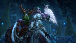 Terror of Darkshore - Malfurion and Tyrande