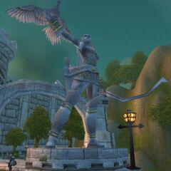 Pomnik Alleri w Dolinie Herosów w Stormwind