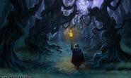 Forêt noire fan art