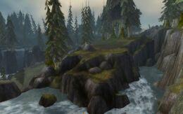 Darkshore landscape