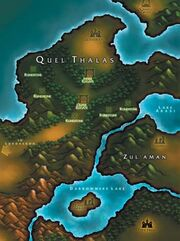 Quelthalas map
