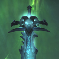 Frostmourne up close.