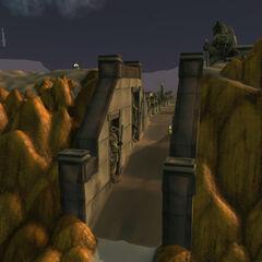 Вход в локацию Ульдума
