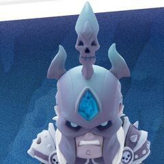 The Arthas toy from <a class=