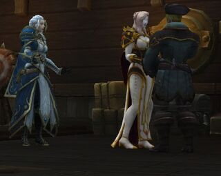 Calia and the Proudmoore Siblings