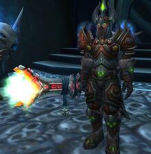 Darion Mograine at Light's Hammer