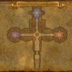 Карта подземелья в обновлении 3.2