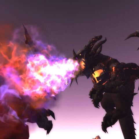 Deathwing ziejący Płomieniem Cienia