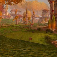 Эльфы Утренней Звезды патрулируют свою деревню